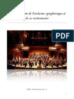 L'Orchestre Symphonique Et Ses Instruments