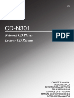 CD-N301 Manual de Utilizare