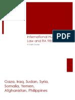 Crash Course on International Humanitarian Law