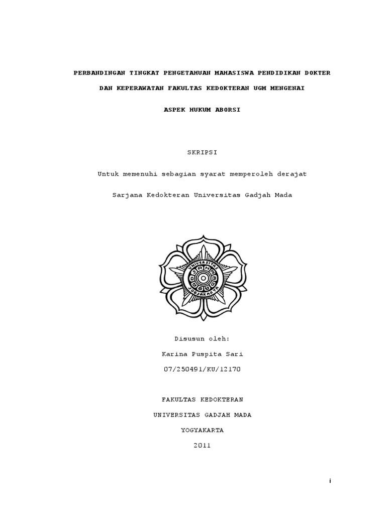 Skripsi Fakultas Hukum Ugm Ide Judul Skripsi Universitas