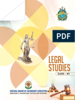 Legal Studies Text Book Class XII