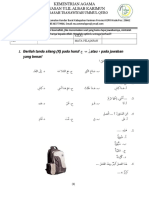 Soal Bahasa Arab Mts Kelas 9 Ummul Quro