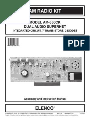 AM-550CK   Soldering   Amplifier