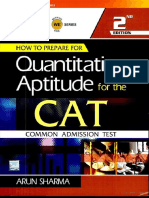 3 How to prepare for Quantitative Aptitude for the CAT Editor Arun Sharma.pdf
