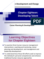 OD UNIT 3 Ch 18 Career Planning & Development Interventions