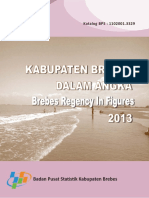 Kabupaten Brebes Dalam Angka 2013