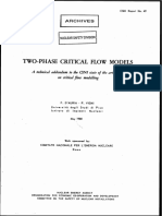Two-Phase Critical Flow Models