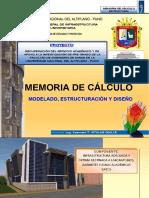 01 - Memoria de Calculo