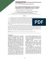 Perilaku Beton Geopolymer Dibanding Beton Normal Ditinjau dari Perawatan, Absorpsi dan Kuat Tekan