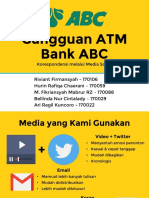 Gangguan ATM Bank ABC