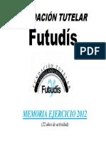 Memoria Activid 2012 Web Futudís