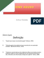 ABDOME DOLOROSO
