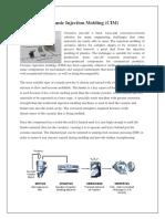 Ceramic Injection Molding (CIM)