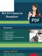 IELTS Training classes in Bangalore