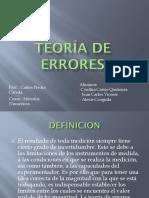 Teoría de Errores(EXPOSICION)