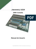 Manual Discovey 1024 Triton Blue Castellano