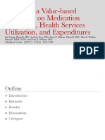 Seminar-Impact of a Value-based Formulary on Medication Utilization, Health Services Utilization, and Expenditures