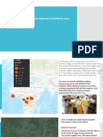 GIS Support for the MSF Ebola Response