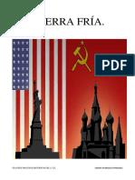 La guerra fría. Grandes procesos históricos del s.xx