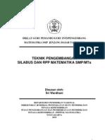 Silabus RPP Mat SMP