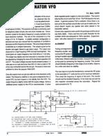 Ceramic Resonator VFO by VU2ITI SPARK