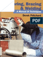 Soldering, Brazing & Welding-A Manual of Techniques - D. Pritchard
