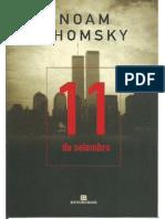 LIVRO Noam Chomsky - 11 de Setembro[Ed.bertrand Brasil]