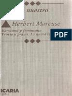 Marcuse, Herbert - Calas en Nuestro Tiempo. Marxismo y Feminismo.pdf