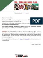Newsletter n°31 - 2017 (23 septembre 2017)
