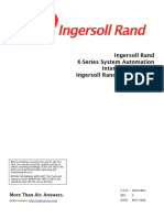 Ingersoll-Rand x series compressor 80443864 2008 Dec instruction manual