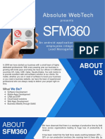 SFM360, software to track field executives
