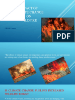 Impact of Climate Change on Wildfire.pptx