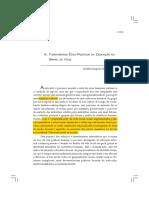 Capitulo_8 - Severino - FUNDAMENTOS ÉTICO-POLÍTICOS DA EDUCAÇÃO NO BRASIL DE HOJE