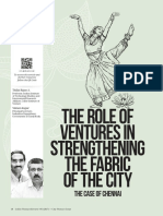 The Role of Ventures in Strengthening the Fabric of the City