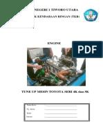 Jobsheet Tune Up Motor Bensin 4 Langkah