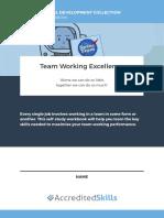 Team Working Excellence Workbook