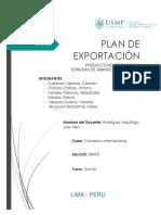 UNIDAD 1- Plan de Exportación