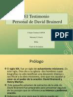 David Brainerd Prólogo y Unos Pocos Años de Bendición