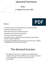 LECTURE 8-30 Using Demand Functions(1)