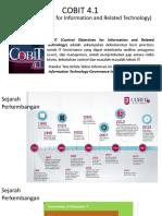 COBIT 41 Overview