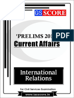 International Relations - PT Current Affairs 2017
