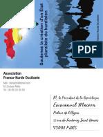 Carte postale de soutien au Kurdistan indépendant
