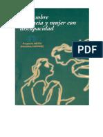 Guía Sobre Violencia y Mujer Con Discapacidad_Proyecto METIS