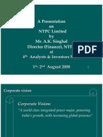 NTPC - Presentation - May 2009