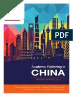 Academic Publishing in China
