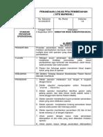 SPO Penandaan Lokasi Pra Pembedahan (Site Marking)