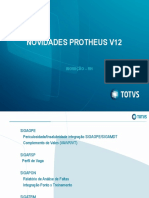 Novidades Protheus V12