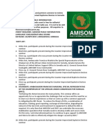 AMISOM, SNA and partners convene to review threat posed by Improvised Explosive Devices in Somalia