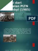 Radiasi Dari Kegagalan PLTN Chernobyl (1985)