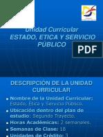 6s. Presentación Estado, Ética y Servicio Público.ppt